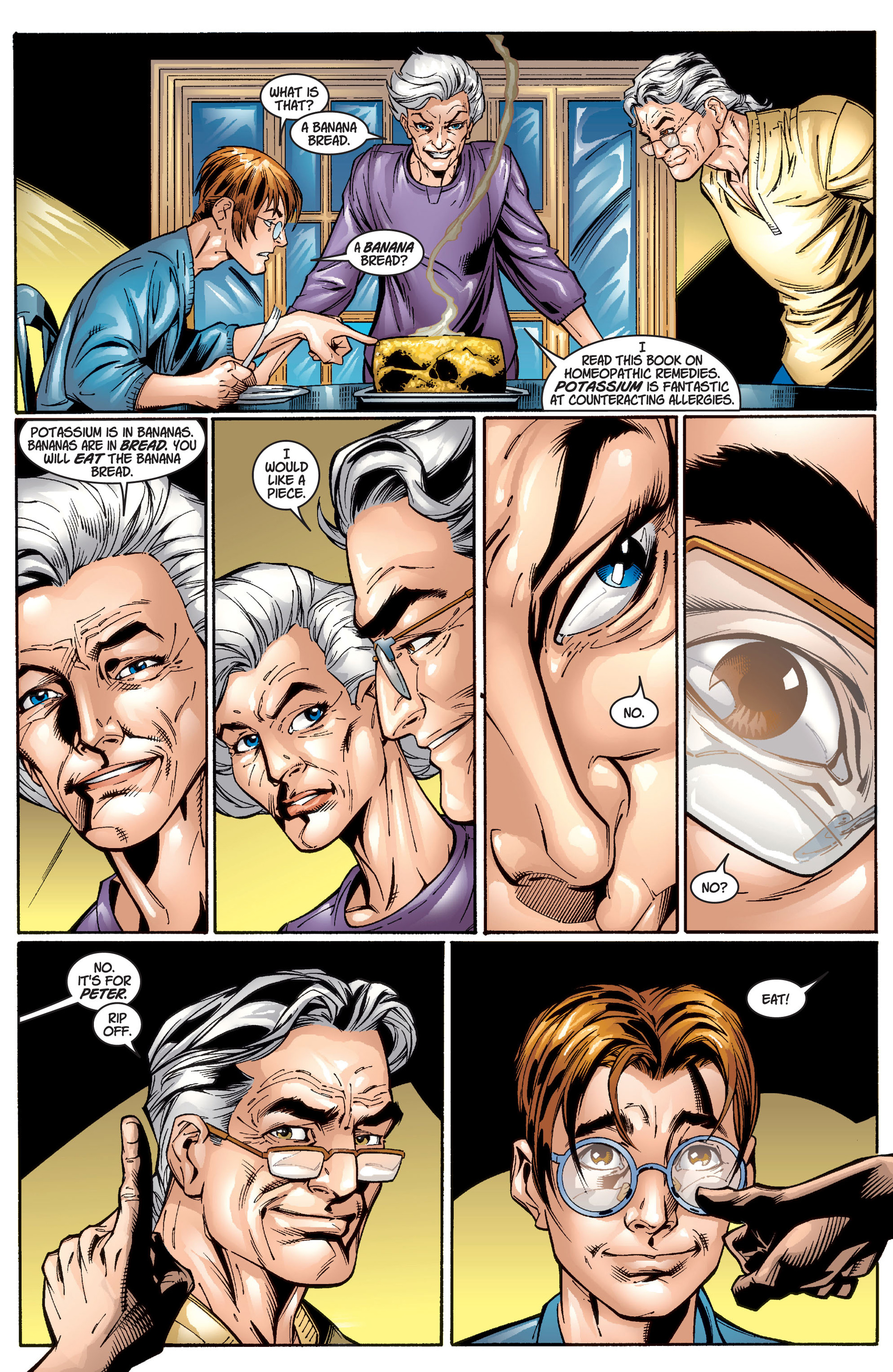 Read online Ultimate Spider-Man (2000) comic -  Issue #1 - 36