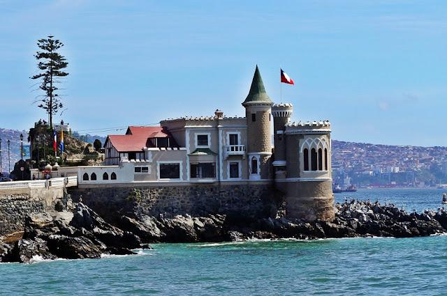 Visitar o Castillo Wulff no inverno em Viña del Mar