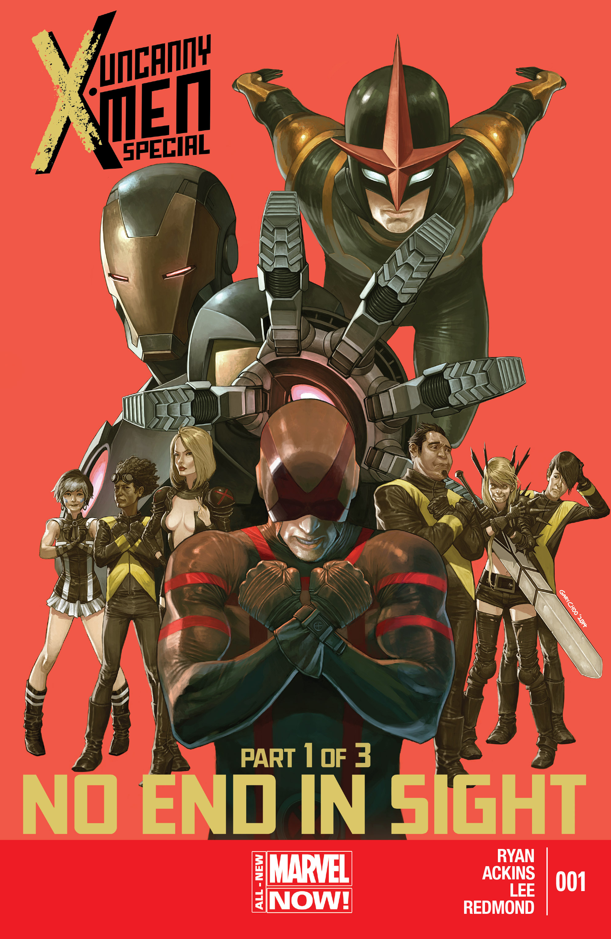 Read online Uncanny X-Men (2013) comic -  Issue # _Special 1 - 1