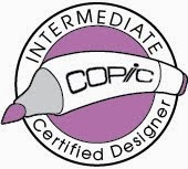 I'm a Copic Certified Designer/Instructor
