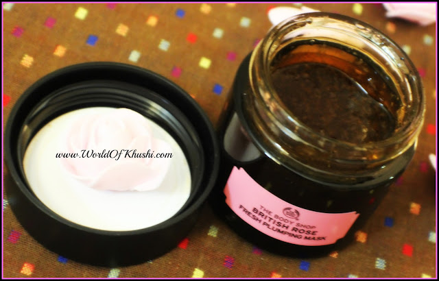 TheBodyShopBritishRoseMask_KhushiWorld_Review