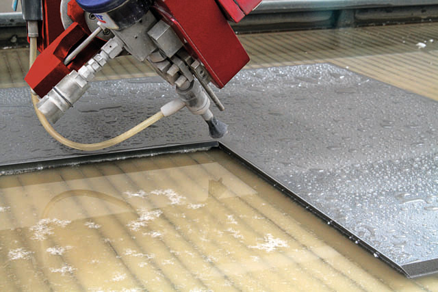 Image result for granite being cut