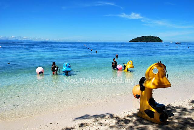 Manukan Island Sea Walking