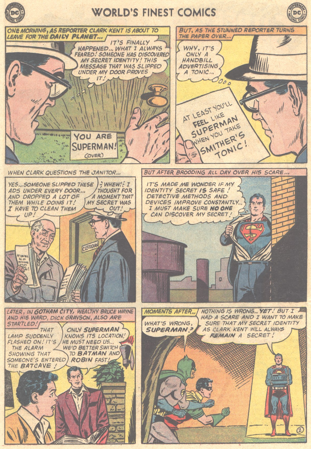 Read online World's Finest Comics comic -  Issue #149 - 4