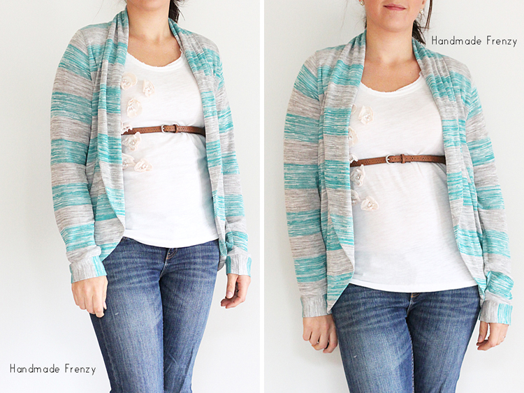 The Julia Cardigan - Pattern By Mouse House Creations