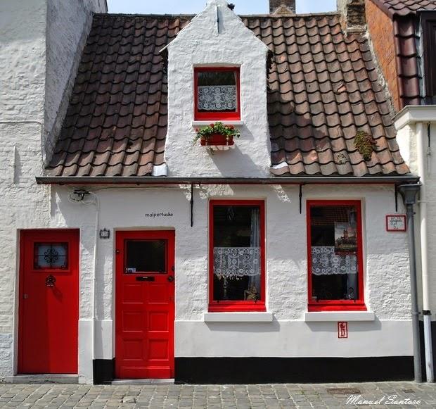 Bruges, una caratteristica abitazione