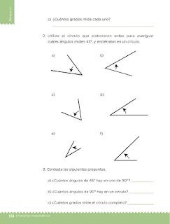 Apoyo Primaria Desafíos matemáticos 3ro Grado Bloque IV Lección 64 Una regla circular