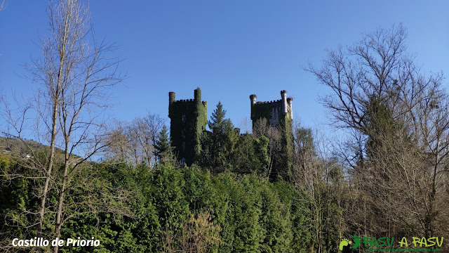 Castillo de Priorio, Las Caldas