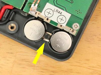 Kaise KW-1166 テスターの電池交換