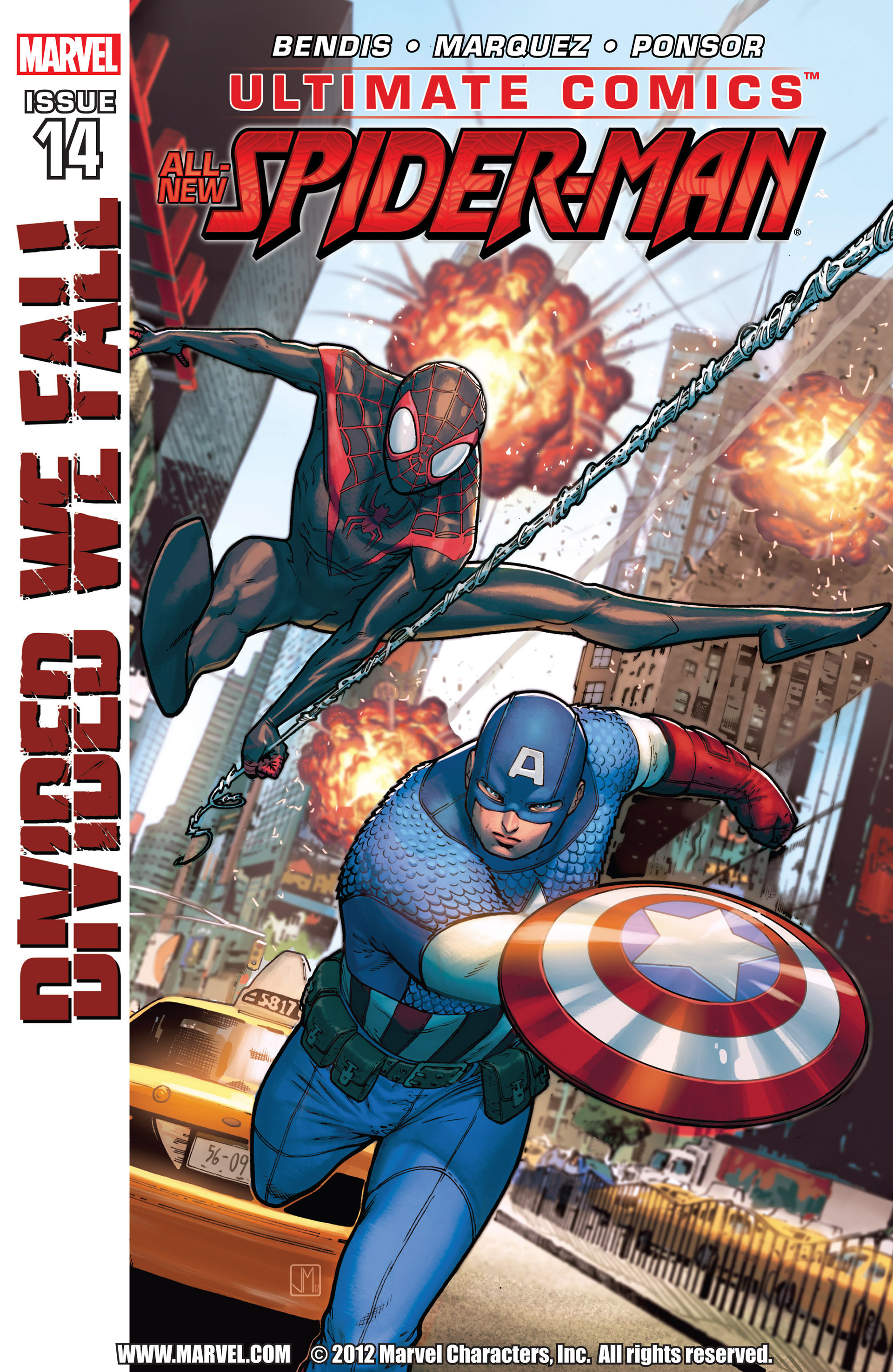 Read online Ultimate Comics Spider-Man (2011) comic -  Issue #14 - 1
