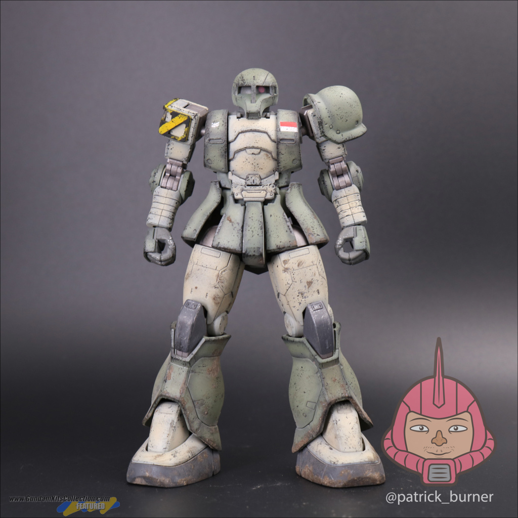 Painted Build: HG 1/144 Zaku I Indonesian Ground Force - Gundam Kits Collection News and Reviews