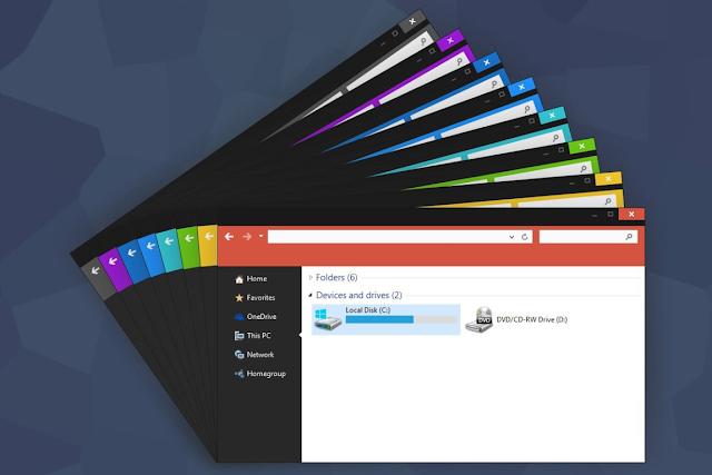 إجعل الويندوز 10 الخاص بك جميل و أنيق بدون أي برامج