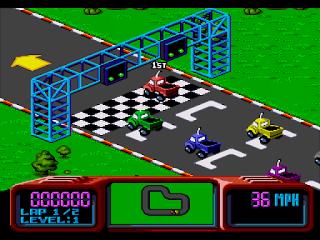 Championship Pro-Am - Mega Drive