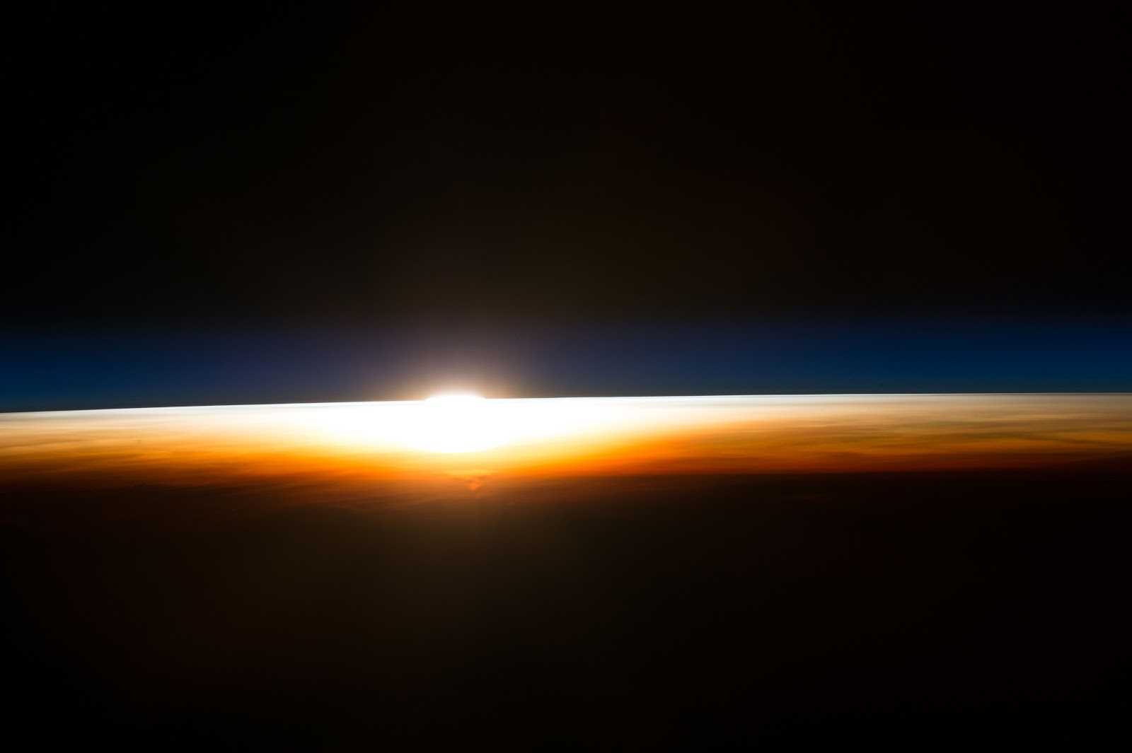 sunrise from international space station - photo #43
