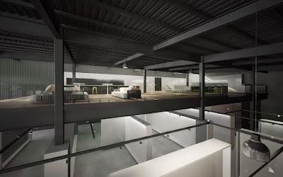 Render interior nueva sala de ventas FERCO