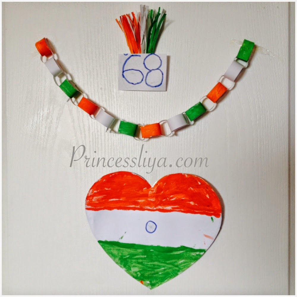 India is celebrating th independence day on th aug over the weekend we were playing with tricolor also life liya and zain   rh princessliya
