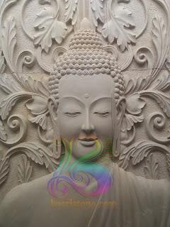 relief budha gautama batu alam