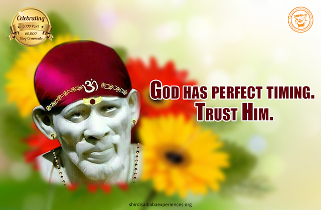 Baba Please Reduce My Son's Cough - Anonymous Sai Devotee