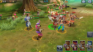 Soul of Heroes : Empire Wars v1.1.5 Full Games RPG Mod Apk 58 MB For Android Terbaru