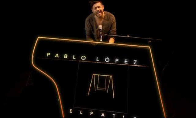 Pablo Lopez en El hormiguero canto el Patio