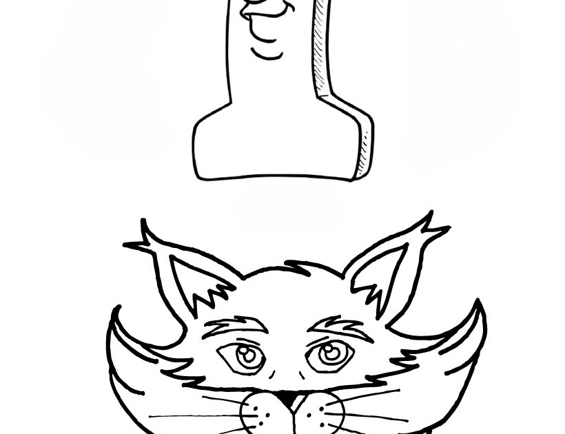 Cats Coloring Pages Numbers