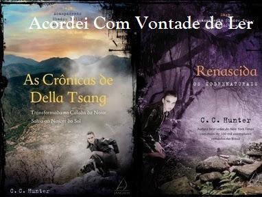 Resenha:As Crônicas de Della Tsang & Renascida Saga Acampamento Shadow Falls: Ao Anoitecer - Livro 01 - C.C. Hunter