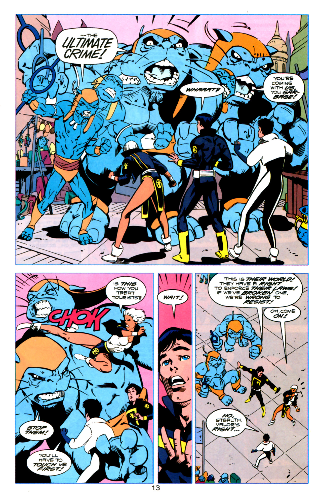 Legion of Super-Heroes (1989) 119 Page 12