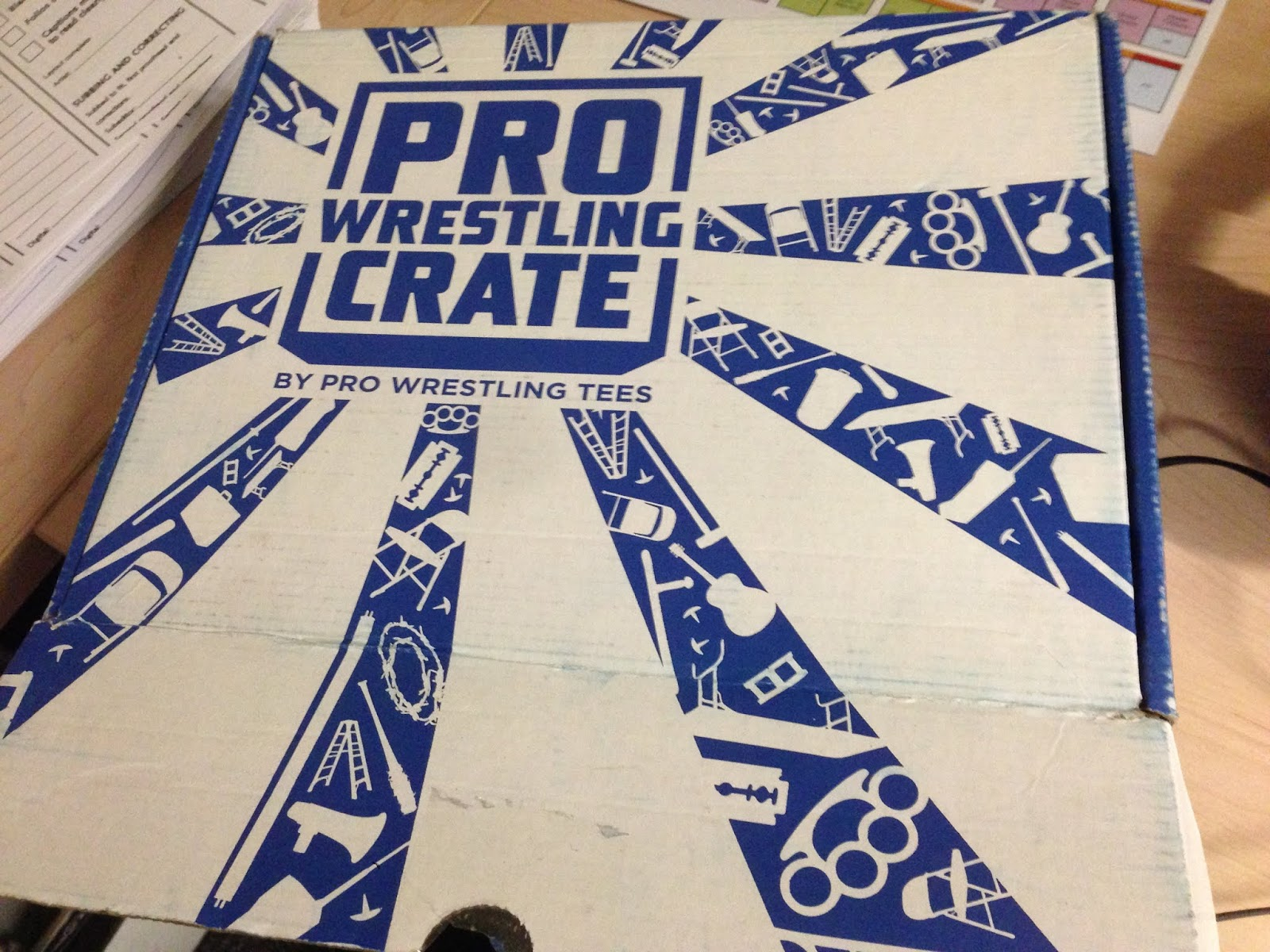 08b77ed3c03f Pro Wrestling Crate for May 2018  The Unboxing