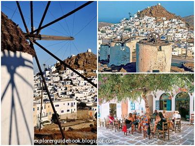 Tempat wisata di yunani santorini mykonos pulau paling indah di Yunani pulau Ios island