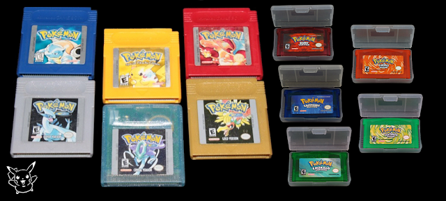 cartridge game pokemon asli