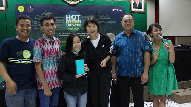 Serunya Gelaran Perdana Infinix Hot Techno Update Di Jakarta