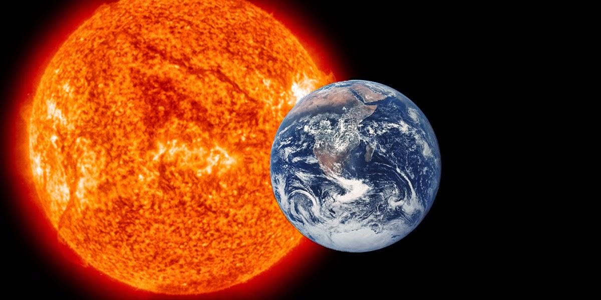 كيف تم حساب المسافة بين الارض والشمس؟؟