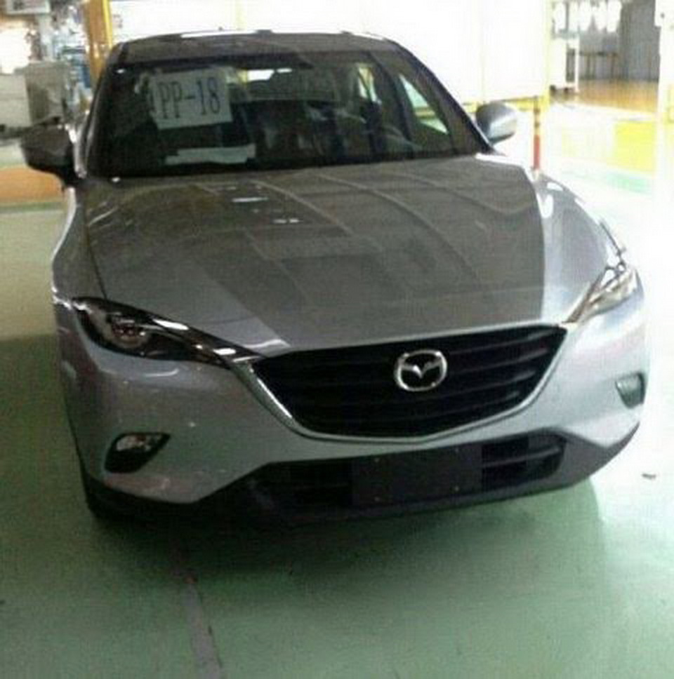New Mazda CX-4, CX-6 Or CX-7 Spied Undisguised