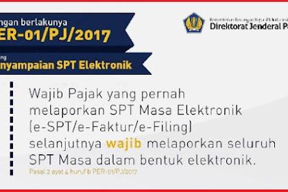 Sekarang Lapor SPT Wajib eSPT