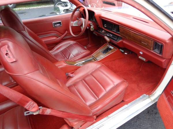 1977 Chevy Monza Mirage Interior