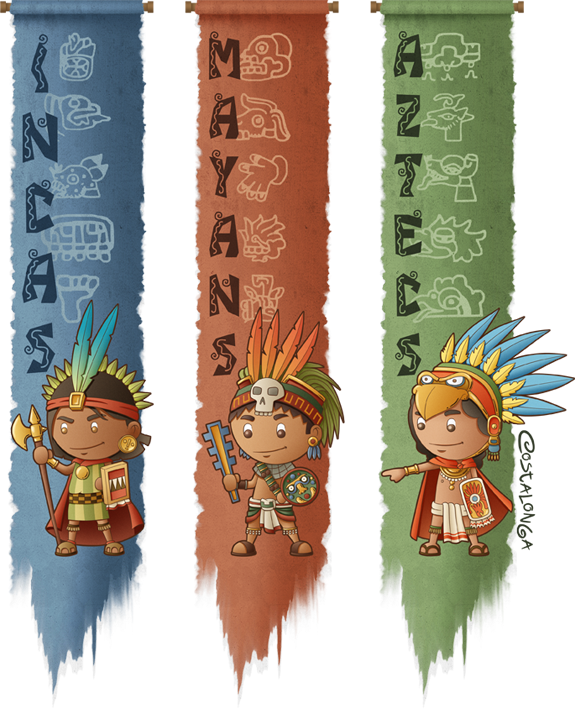 Aztecs, Maya, and Inca for Kids