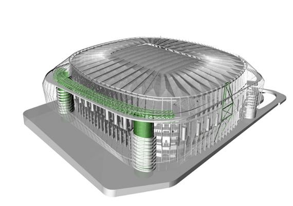 Proyecto definitivo de reforma del Estadio Santiago Bernabéu. Octubre 2016