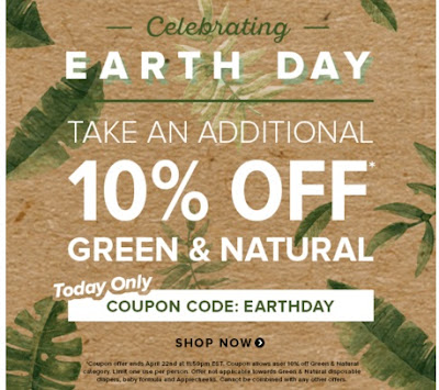 Well.ca Earth Day 10% Off Green & Natural Promo Code