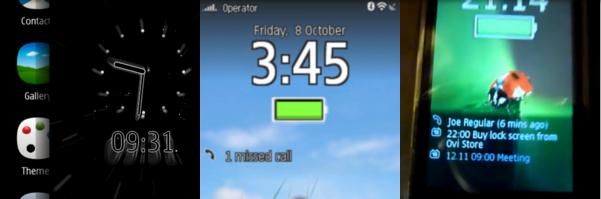 تحميل برنامج قفل حماية نوكيا x7-00 Lock Screen (Demo)