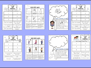 Sarah s first grade snippets snowy centers reading writing and word