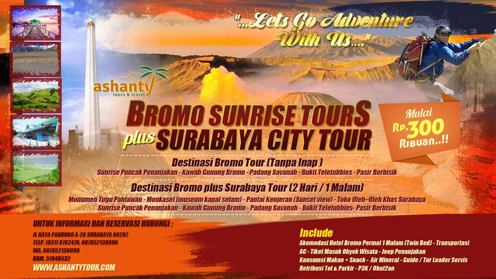 paket liburan ke bromo murah, paket wisata bromo dari surabaya, paket tour bromo murah dari surabaya