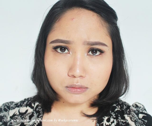 FOTD Sebelum Memakai Lipstik