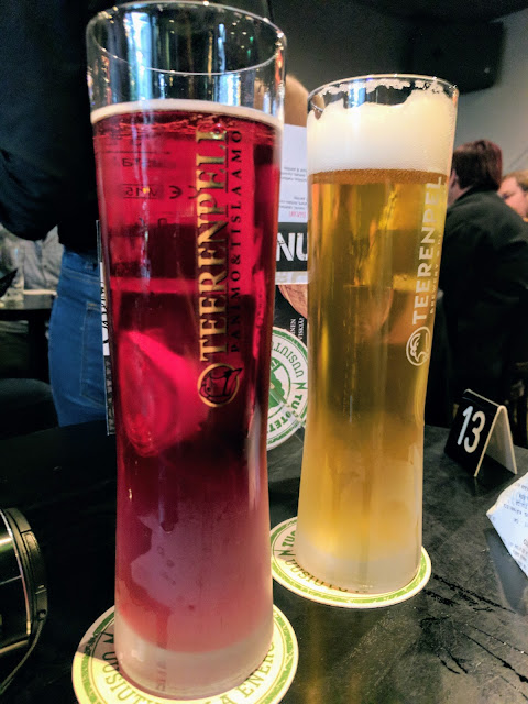Finland Road Trip: Loganberry cider at Teerenpeli in Lappeenranta Finland