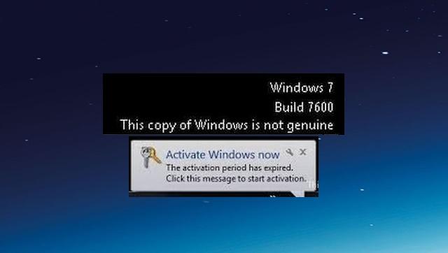 Cara Mudah Mengaktifkan Windows 7 yang Expired 32/64 bit