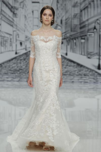 Estupendos vestidos de novias | Colección escote corazón