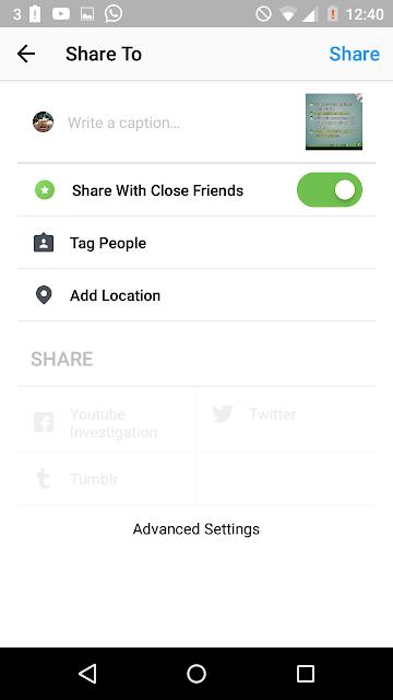 Cara Agar Foto Instagram Kamu Hanya Bisa DI Lihat Oleh Orang Yang Kamu Inginkan