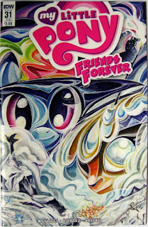 MLP Friends Forever #31, Sub cover by Sara Richard