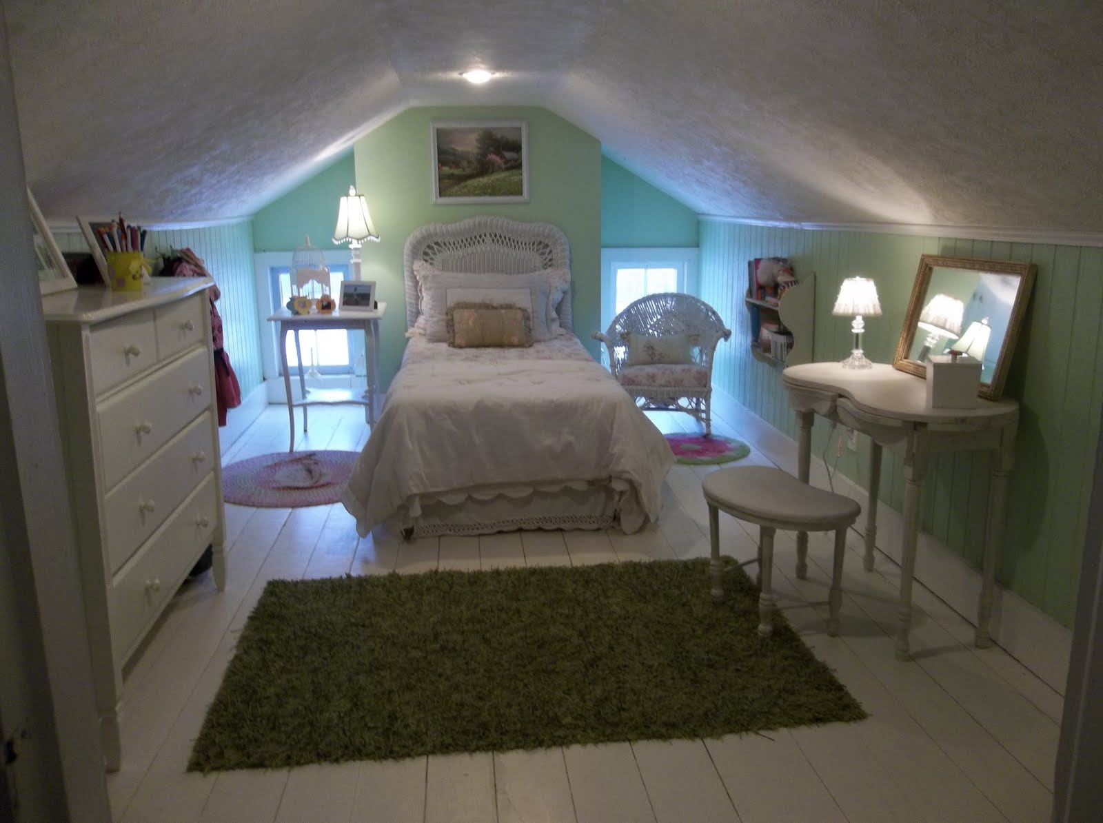 The Fanciful Farmhouse The Attic Room