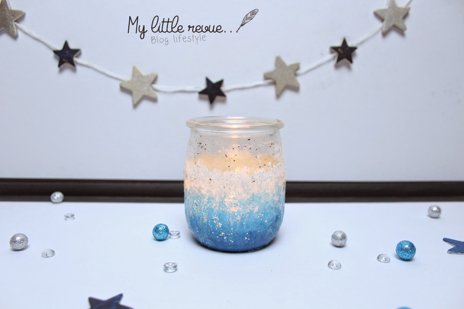 diy photophore de noel