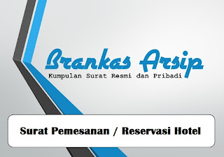 logo postingan contoh surat pemesanan / reservasi hotel
